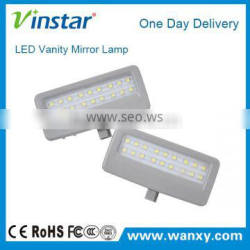 18-SMD LED High Power E4 approved no error LED Vanity Mirror Lamp for BMW F07 F10 F11