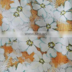 NO MOQ digital printed polyester fabric