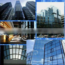 Sun protection construction window glass mirror film