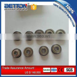 Inch Series Flanged miniature bearing FR156ZZS