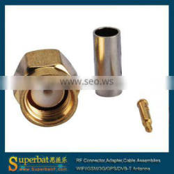 high frequency RF SMA Conector for RG316 RG174 coaxial cable