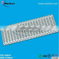 51mm*6mm square mcpcb board for led panel lighting OEM & ODM electronic board