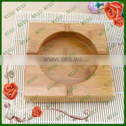 eco-friendly modern nature wood ashtray for sale
