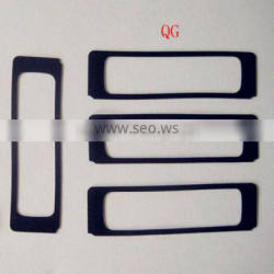Vulcanized rubber waterproof gaskets