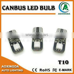 12V 5050 2SMD LED T10 CANBUS car dome light