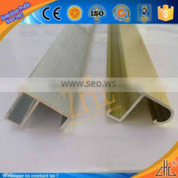 Hot! top 10 photo frames profile, extruded aluminum profile for picture frames