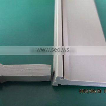 white cylindrical silicone sealing strip/silicone edging strips