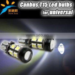 Hot Sale T15 W16W 13 LED 5050 SMD Canbus Error Free High Power Car Auto Reverse Parking Lights Bulb DC12V