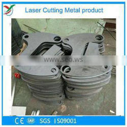 Laser Cutting carbon steel key shape with two hole