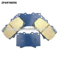 Auto Parts Front Ceramic Brake Pads For Toyota Land Cruiser 04465-60230