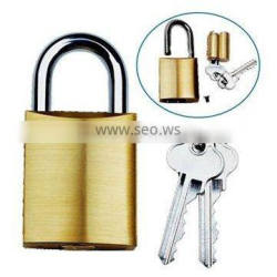 570 replaceable cylinder brass padlock