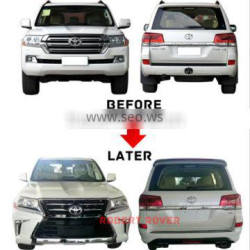 2016 land cruiser change into lexus design body kit, 2016 FJ200 upgrade to LX570