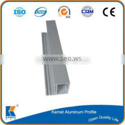 6063-T5 exclusive sand blasting silver aluminum profile for casement
