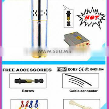 Irrigration 3SPS1.5/80-D24/210 DC Solar Submersible Water Pump