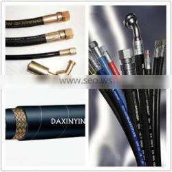 rubber hose with fittings hose assmbly industrial hose with fitting made in china