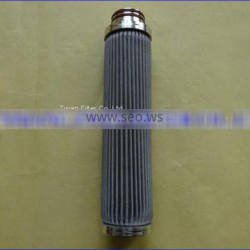 Pleated Sintered Fiber Felt Filter
