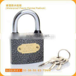New Fashion Water Proof Plastic Painted Safe Lock