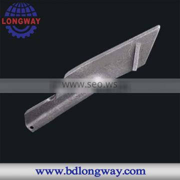 sand casting gray iron baler spare parts