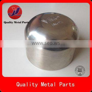 mirror polished stainless steel stamping parts round case for lock hardware