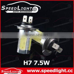 2014 new product fog lamp h1 h4 h7 led bulb 7W