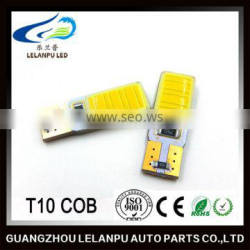 High Power Auto Led lights Canbus T10 COB W5W 12V car led Bulb Decoration accessories