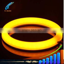 Milk yellow color LED angel eyes ring Camry European