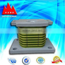 High temperature spring seat shock absorber