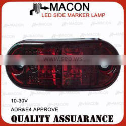 10-30V whole sale led side marker lamp for trucks ADR APPROVED