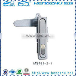 Zinc alloy electric panel lock