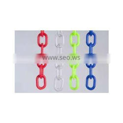 colored plastic link chain