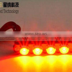 12V red blue car parts led strobe grill light XN-09B94