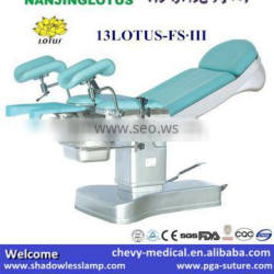 13LOTUS-FS.III High Quality C Arm Compatible Operating Table
