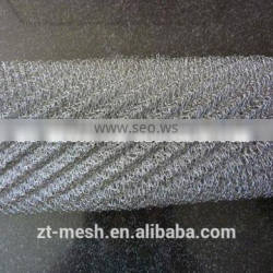 galvanization material knitted wire mesh for filter/import wire mesh