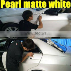 Super quality pearl matt car sticker with size:1.52*20m with air bubbles