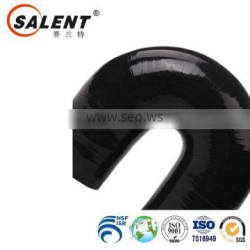 high grade 32mm Black automotive 180 degree flexible silicone elbow radiator hose