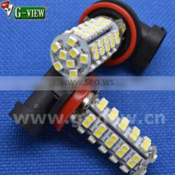 Hotsale superbright 68smd 1210 auto led , car led lamp h11 for fog light