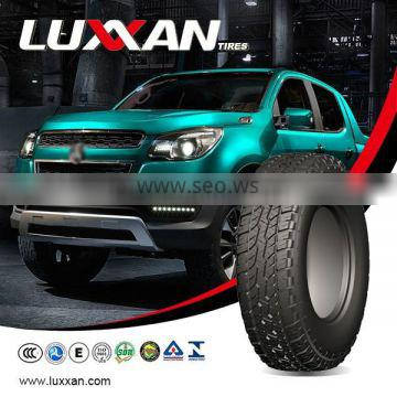 popular LIGHT TRUCK TYRE with good driving ability LUXXAN Aspirer PK