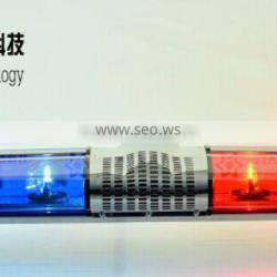 LED Blue and Red halogen rotating lightbar