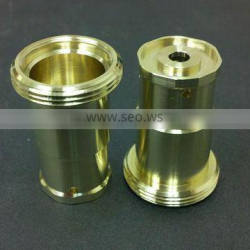 cnc turned parts brass turning part precision brass turned parts