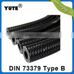 "din73379 1/4"" ozone resistant polyester external braided fuel hose"