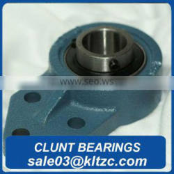 Sealmaster FB-32R Standard Duty Flange Bracket, 3 Bolt, Regreasable, Felt Seals, Setscrew Locking Collar, Cast Iron Housing