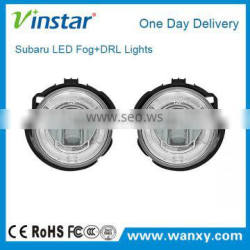 Vinstar patent product high powerl led fog light for Impreza WRX STI led daytine running fog lamp