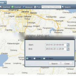 Multiple language web based gps tracking server