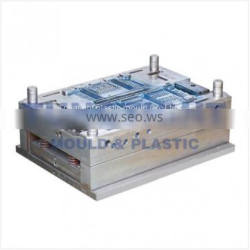 China high quality plastic food / vegetable / fruit folding crate mould