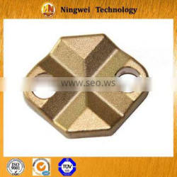 Custom copper forging technology parts