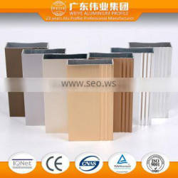 House aluminum extrusion window profile made in foshan city