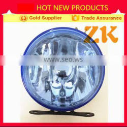 2015 4X4 new Blazer small replacement blue round front fog lamp
