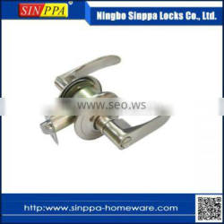 1008 Bedroom Safety Cylindrical Zinc Alloy Lever Handle Door Lock