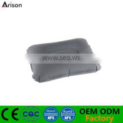 PVC inflatable rectangle pillow foldable camping pillow inflatable furniture