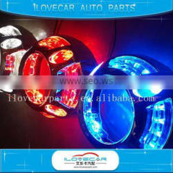 3 Inch auto led drl projector lens cover/shrouds for panamera, car kit 3 Inch projector lems for retrofit